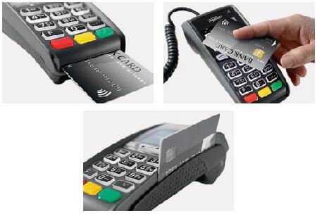 countertop card machine ICT250