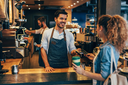 contactless payment machines for business