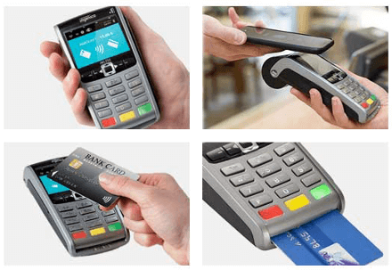 our range of portable card machines