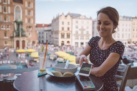 take mobile payments outside